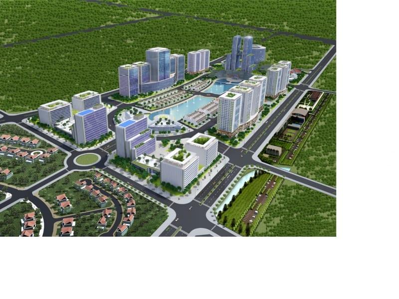 Dự án Khu công viên công nghệ phần mềm Hà Nội
