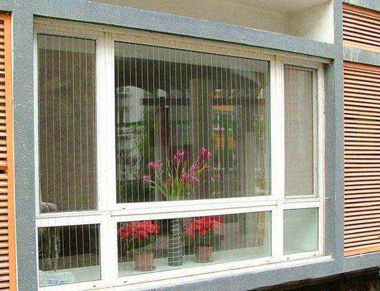 Lưới an toàn ban công cho cửa sổ