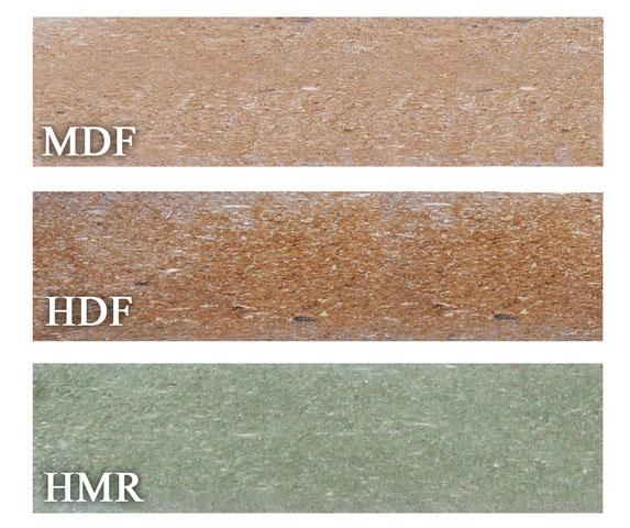 phân biệt gỗ hdf